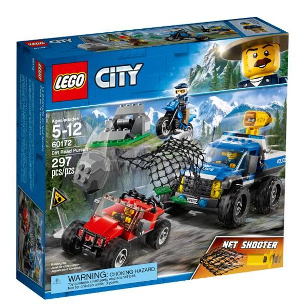 60172 City Police Dirt Road Pursuit