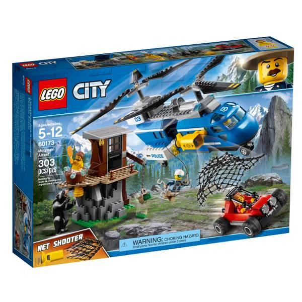 60173 City Police Mountain Arrest