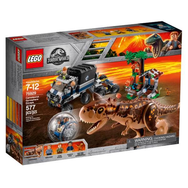 75929 Jurassic World Carnotaurus Gyrosphere Escape