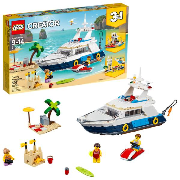 31083 Creator Cruising Adventures