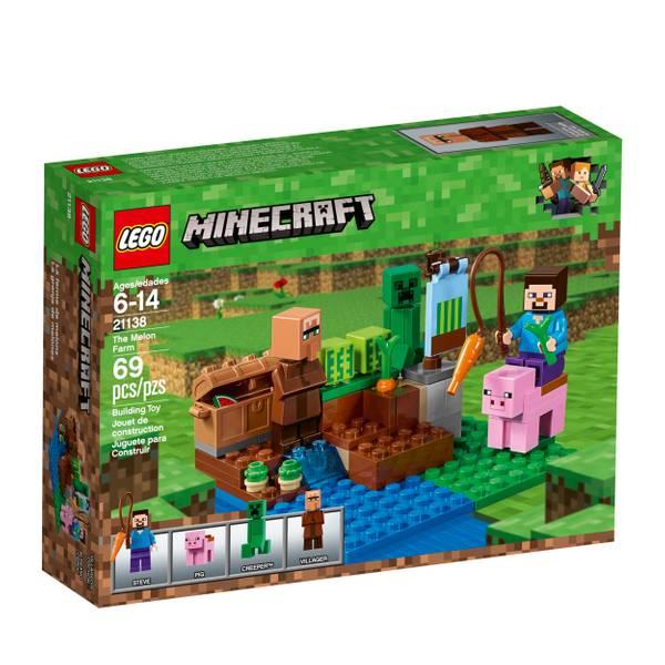 21138 Minecraft The Melon Farm