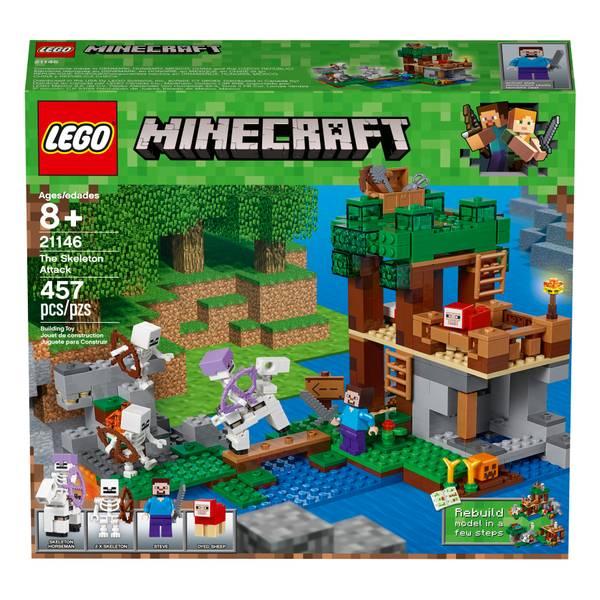 21146 Minecraft The Skeleton Attack