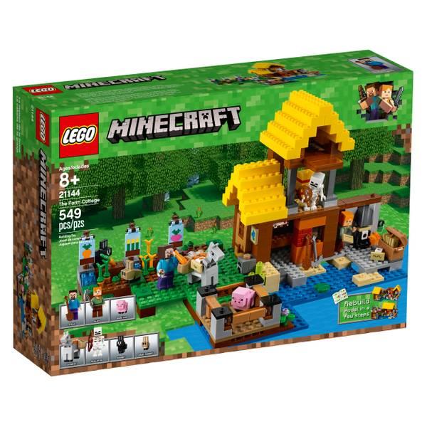 21144 Minecraft The Farm Cottage