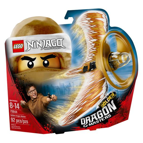 70644 Ninjago Golden Dragon Master