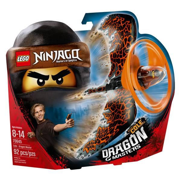 70645 Ninjago Cole - Dragon Master