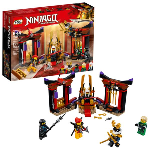 70651 Ninjago Throne Room Showdown