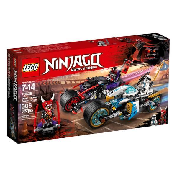 70639 Ninjago Street Race Snake Jaguar