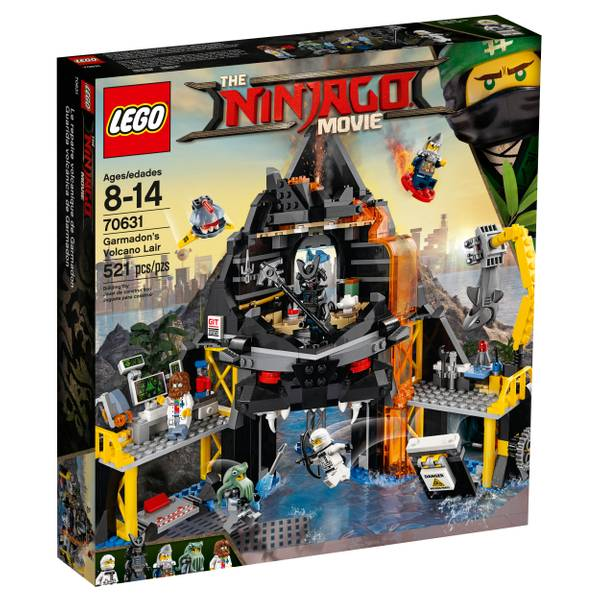 70631 Ninjago Garmadon Volcano Lair