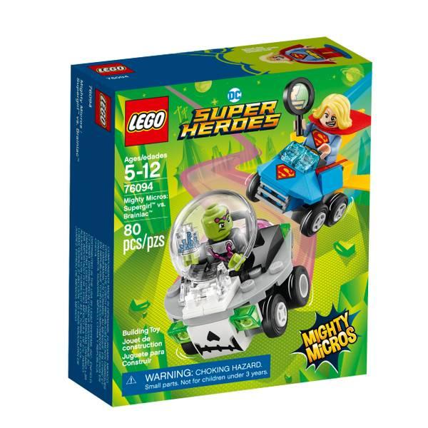 76094 Super Heroes Mighty Micros Supergirl vs. Brainiac