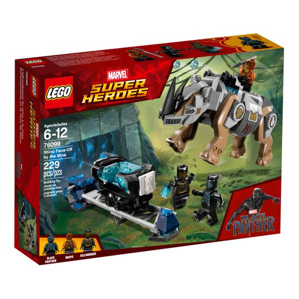 76099 Marvel Super Heroes Rhino Face-Off by the Mine