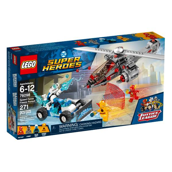 76098 Super Heroes Speed Force Freeze Pursuit