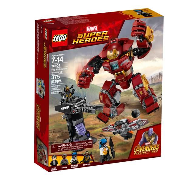 76104 Super Heroes Avenger Hulkbuster SmSuper Heroes-Up