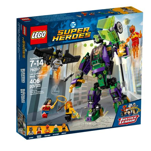 76097 Super Heroes Lex Luthor Mech Takedown