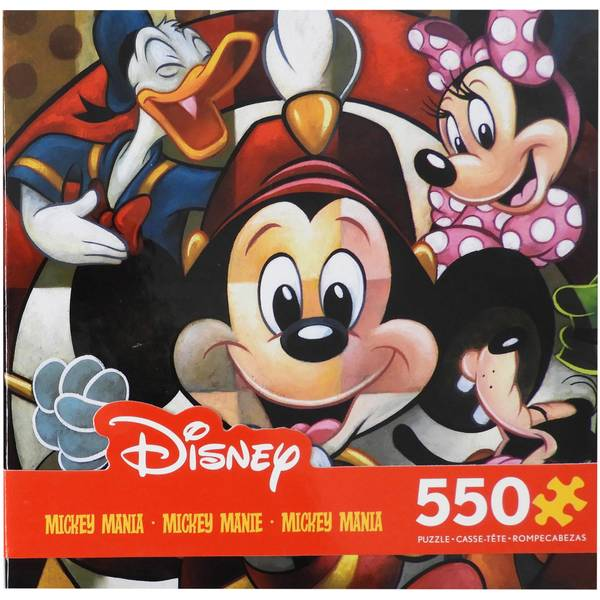 550-Piece Mickey & Friends Puzzle