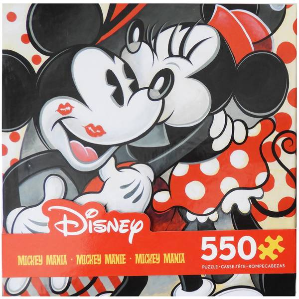 550-Piece Mickey & Minnie Puzzle