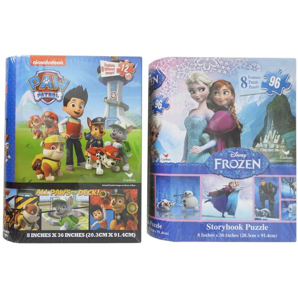 Licensed Storybook Puzzle Assortment