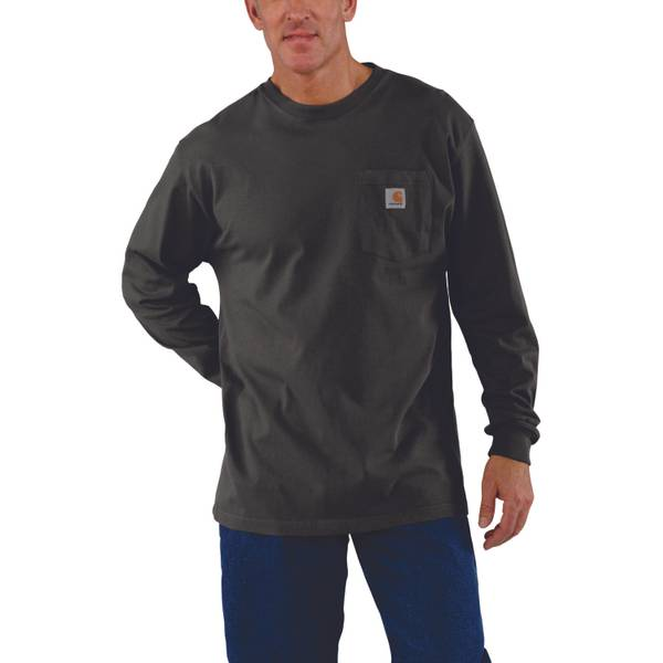 f9105a1f9176 Carhartt Men's Long Sleeve Pocket T-Shirt