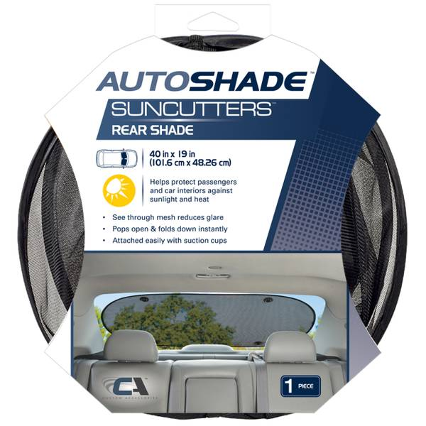 Suncutters Glare Reduction Rear Shade