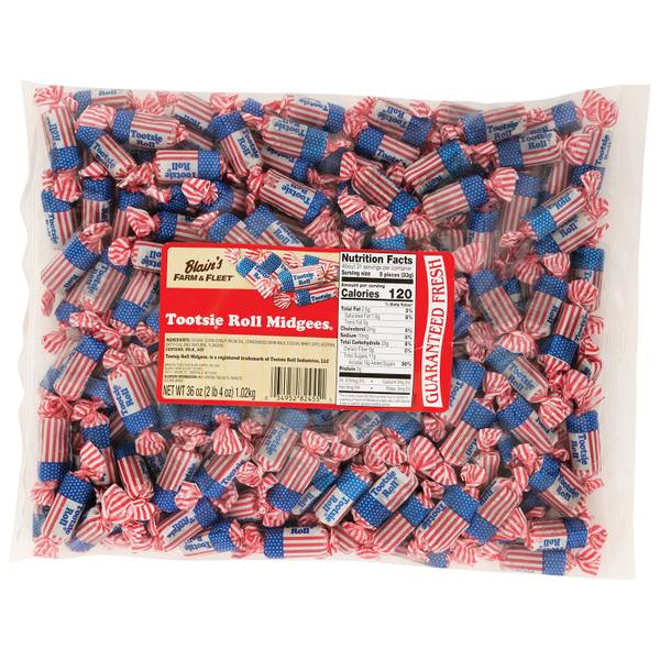 36 oz Tootsie Rolls