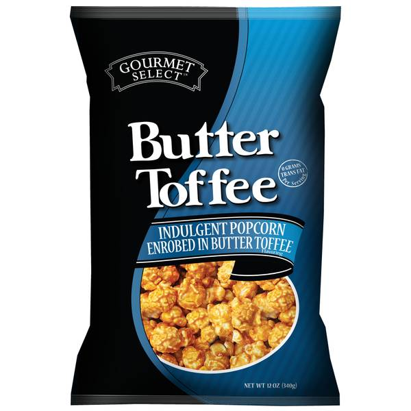 12 oz Butter Toffee Caramel Corn