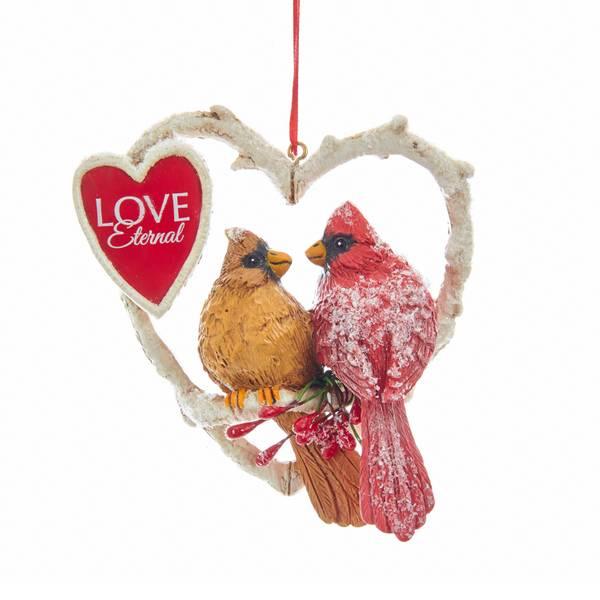 """4"""" Cardinals Eternal Ornament"""