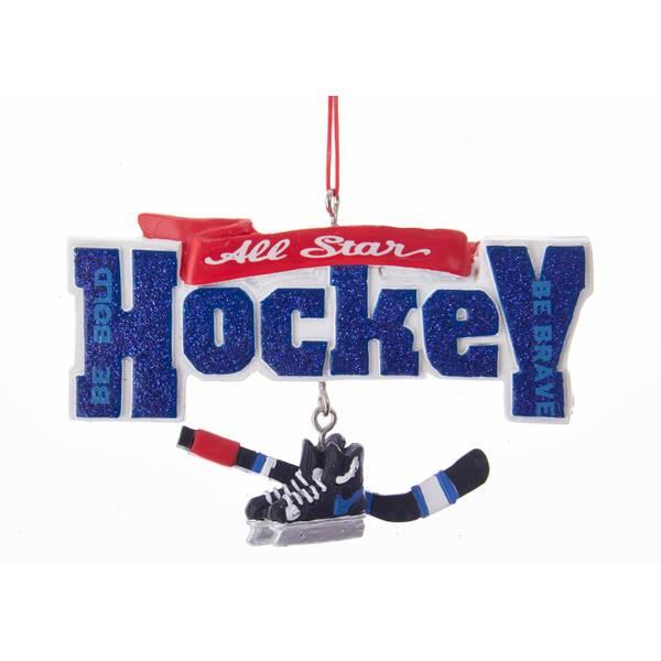All-Star Hockey Dangle Ornament
