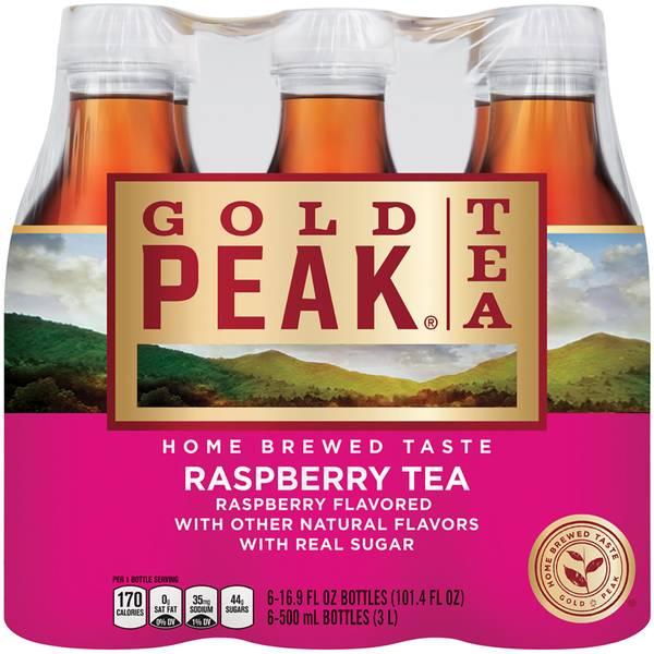 6-Pack 500ml Raspberry Tea