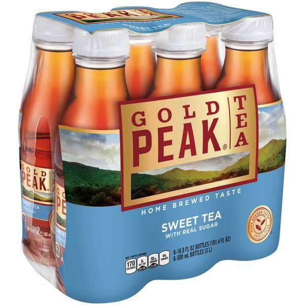 6-Pack 500ml Sweet Tea
