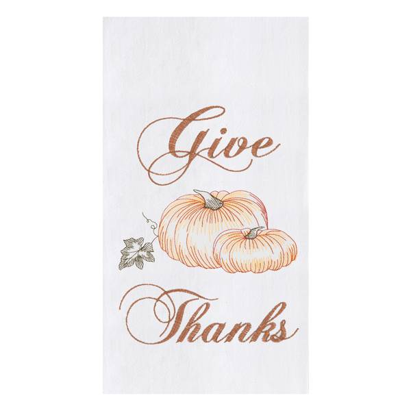 Give Thanks Flour Sack Towel