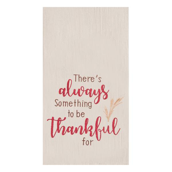 Always Thankful Flour Sack Towel