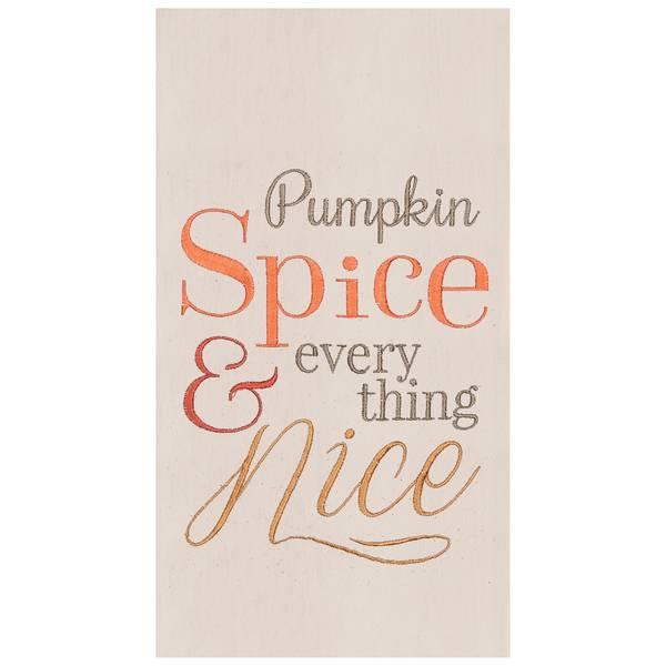 Pumpkin Spice Flour Sack Towel