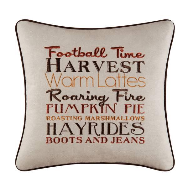 "16"" Football Time Pillow"