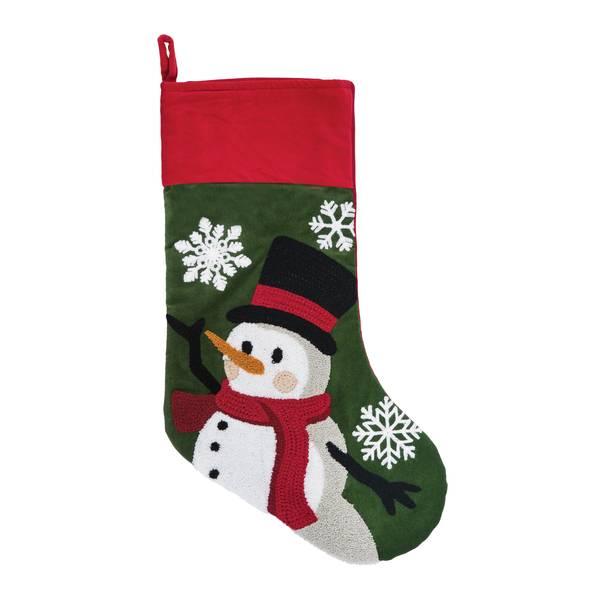 Snowman Dance Stocking