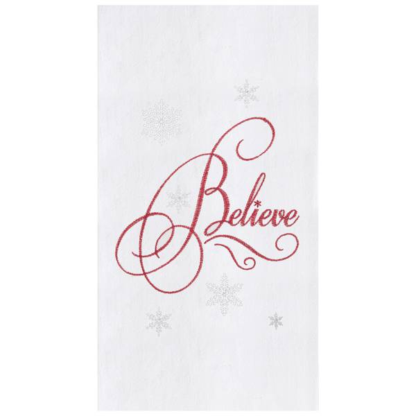 Believe Flour Sack Towel
