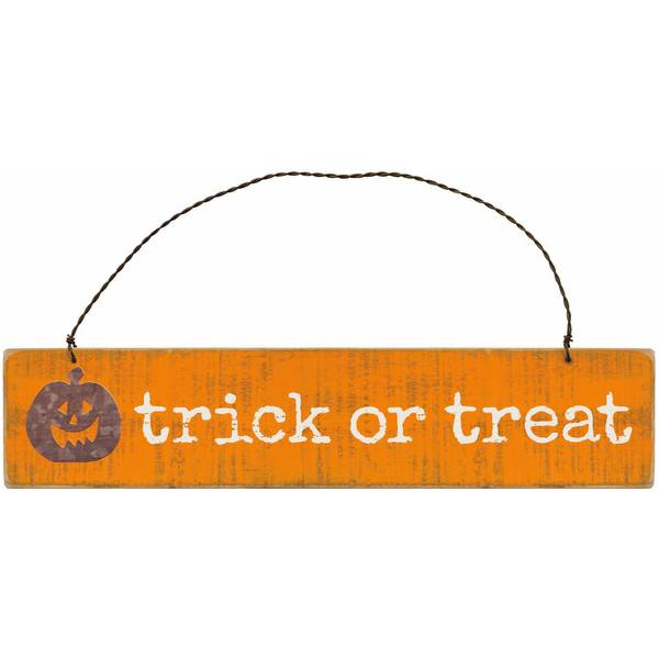 Slatted Trick or Treat Ornament