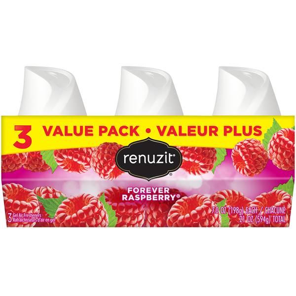 3-Pack Raspberry Air Refresheners