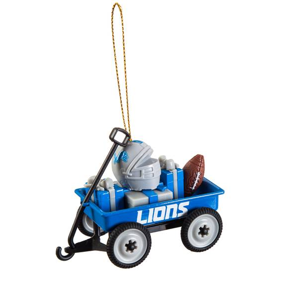 Detroit Lions Team Wagon Ornament