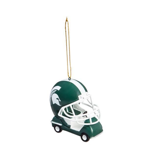 Michigan St. Spartans Field Car Ornament