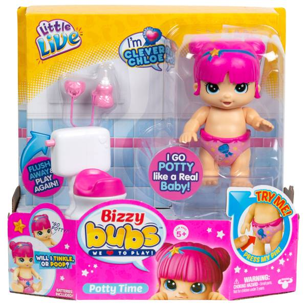 Little Live Bizzy Bubs Baby Playset