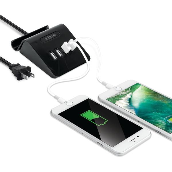 3A 4 USB Multi-Charge with Stand