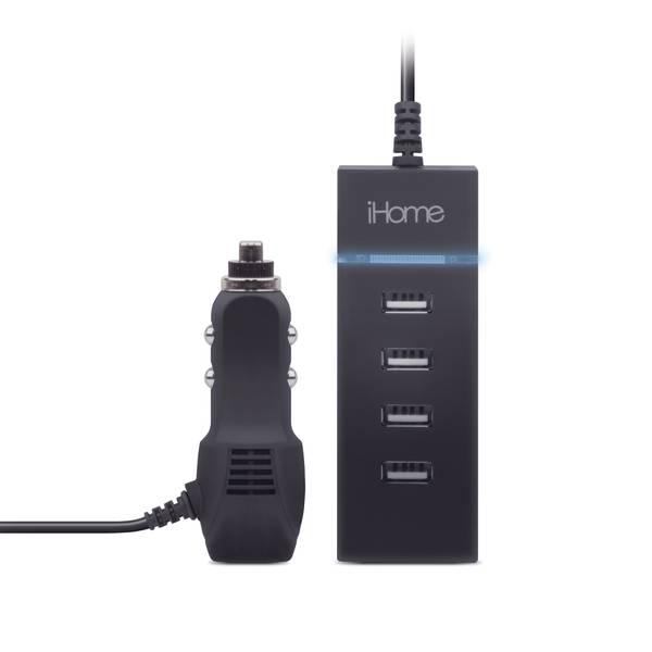 3A 4 USB Car Charge Strip