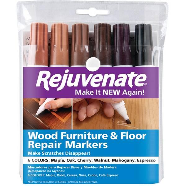 6-Pack Wood Repair Markers
