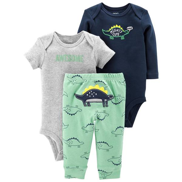 Infant Boys' Green 3-Piece TMA Set