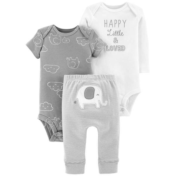Unisex Grey 3-Piece TMA Set