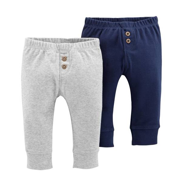 Infant Boys' Navy LBB 2-Pack Pants