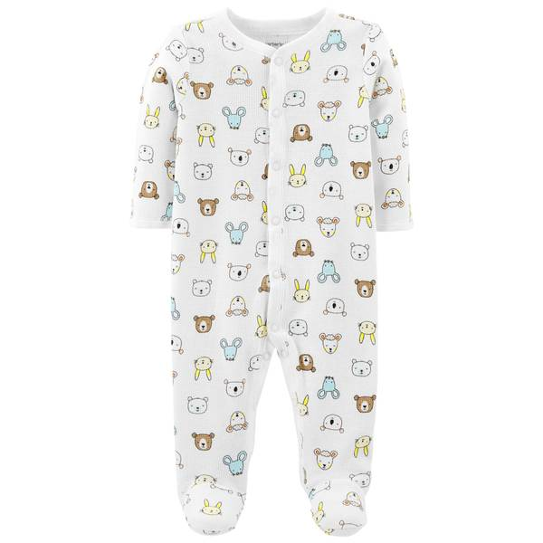 Baby Boy's Animal Thermal Sleep and Play Pajamas