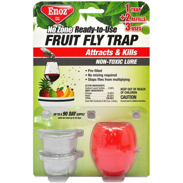No Zone Ready To Use Fruit Fly Trap