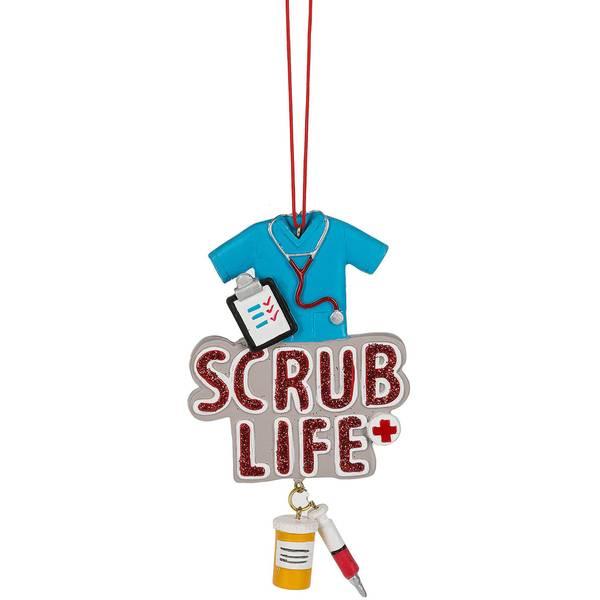 Scrub Life Nurse Ornament