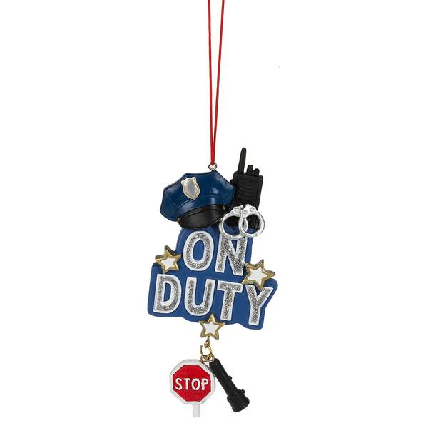 On Duty Officer Ornament