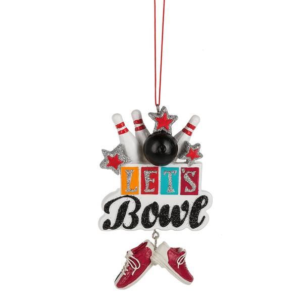 Let's Bowl Ornament
